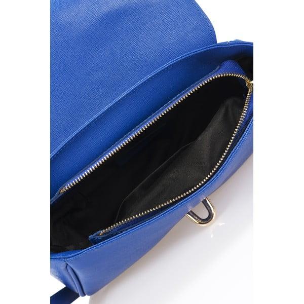 Kožená kabelka Markese 2355 Blue