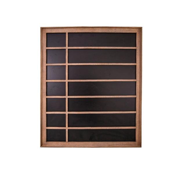 Čierna nástenná tabuľa Antic Line Week