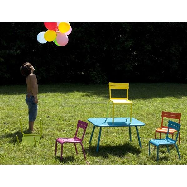 Antracitový detský stôl Fermob Luxembourg