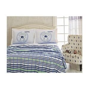 Set prikrývky na posteľ a plachty U.S. Polo Assn. Billings, 200 x 220 cm