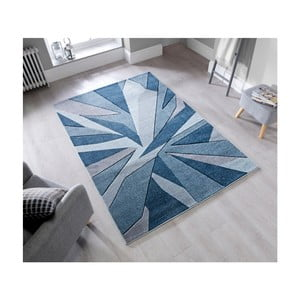 Koberec Flair Rugs Shatter Denim, 160 × 230 cm