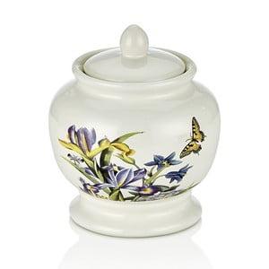Porcelánová cukornička Motýlikovia