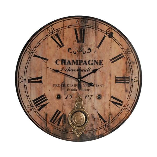 Hodiny Antik Line Champagne, 59 cm