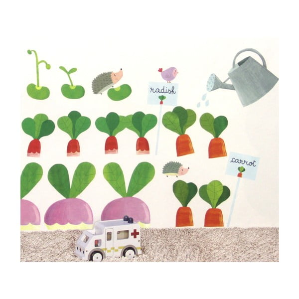 Samolepka na stenu Záhrada