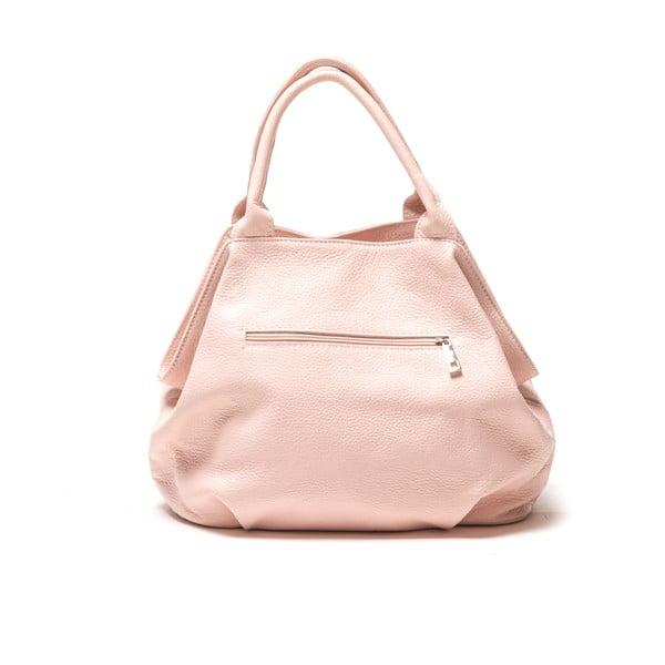 Kožená kabelka Renata Corsi 1076, ružová