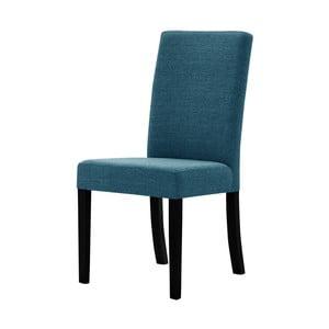 Tyrkysová stolička s čiernymi nohami Ted Lapidus Maison Tonka