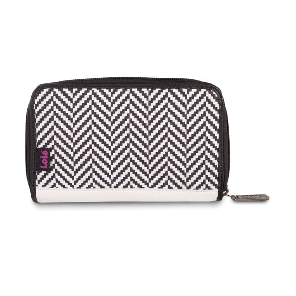 Peňaženka Lois Wallet Black, 16x9 cm