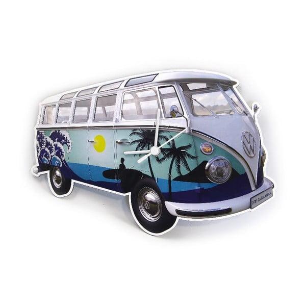 Nástenné hodiny VW Camper Tropical