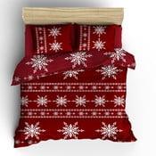 Obliečky s plachtou Red Snow, 200x220 cm