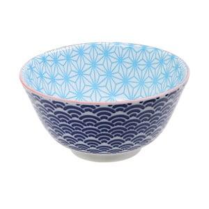 Modrá porcelánová miska Tokyo Design Studio Star, ⌀ 12 cm