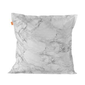 Balvnená obliečka na vankúš Blanc Essence Marble Gray, 60×60 cm