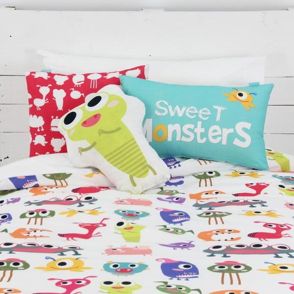 Vankúš Sweet Monsters 40x30 cm z bistra U Kubistu