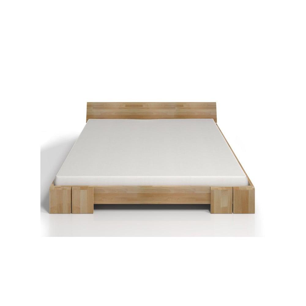 Dvojlôžková posteľ z bukového dreva Skandica Vestre, 180 × 200 cm