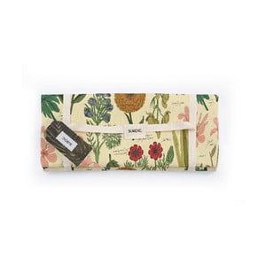 Piknik deka Surdic Manta Picnic Botanical s motívom rastlín, 170 cm