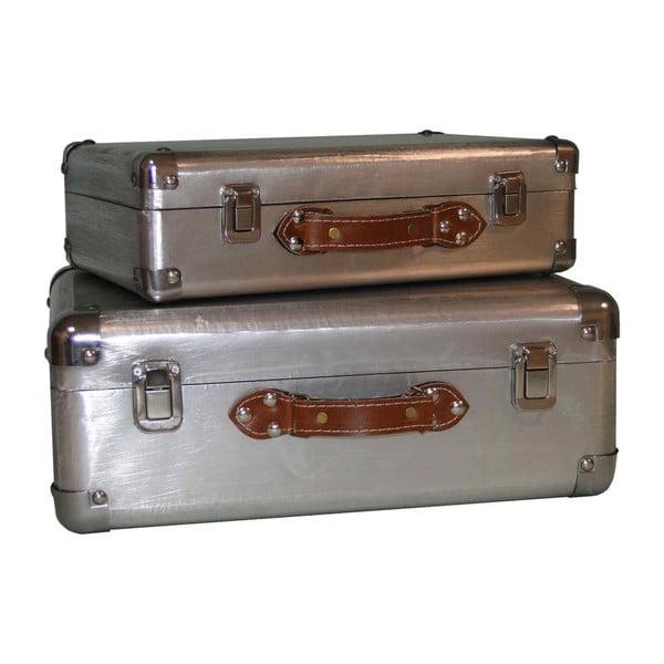 Set kufrov Antic Line Silver, 2 ks