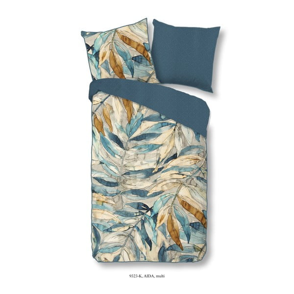 Bavlnené posteľné obliečky Muller Textiels Descanso Aida, 140×200 cm