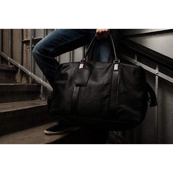 Pánska cestovná taška z pravej kože Éstie