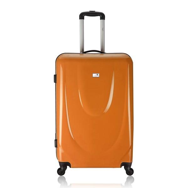 Sada 3 kufrov Integre Full Orange, 114 l/75 l/46 l