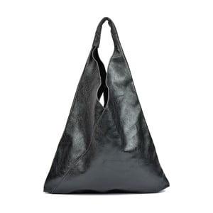 Čierna kožená kabelka Isabella Rhea Arya