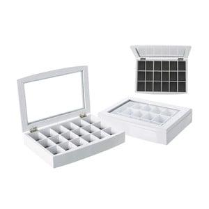 Šperkovnica Unimasa White Glass