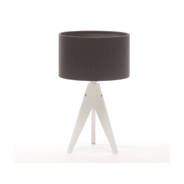 Stolná lampa Arist Cylinder Grey/White