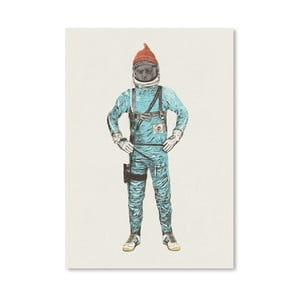 Plagát Zissou In Space od Florenta Bodart, 30x42 cm