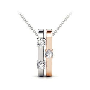 Prívesok se zirkónmi Swarovski Elements Crystals Jane