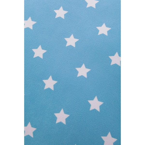 Vankúš Star 45x45 cm, modrý
