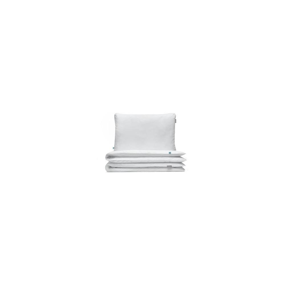 Biele bavlnené obliečky na dvojposteľ Mumla, 200 × 220 cm
