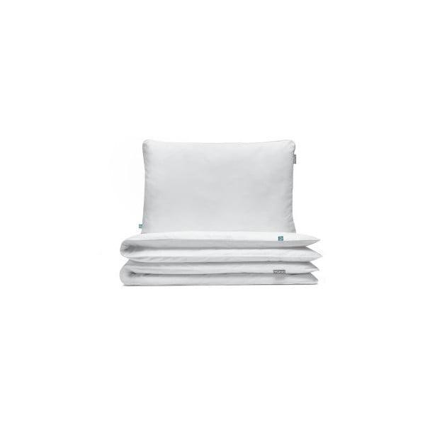 Biele bavlnené posteľné obliečky Mumla, 160×200 cm