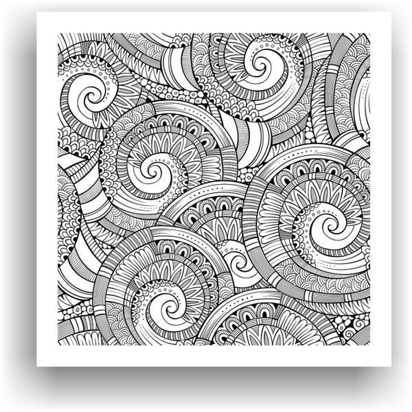Obraz na vymaľovanie Color It no. 26, 50x50 cm