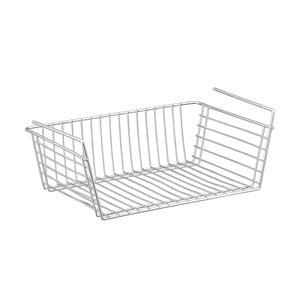 Prídavný košík pod poličku Metaltex Basket, hĺbka 39 cm