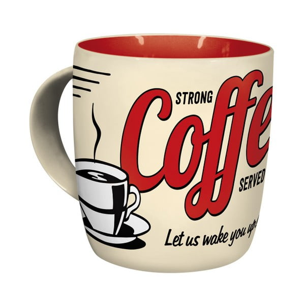 Keramický hrnček Strong Coffee330ml