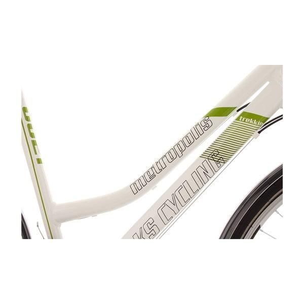 """Bicykel Metropolis Bike White, 28"""", výška rámu 54 cm"""