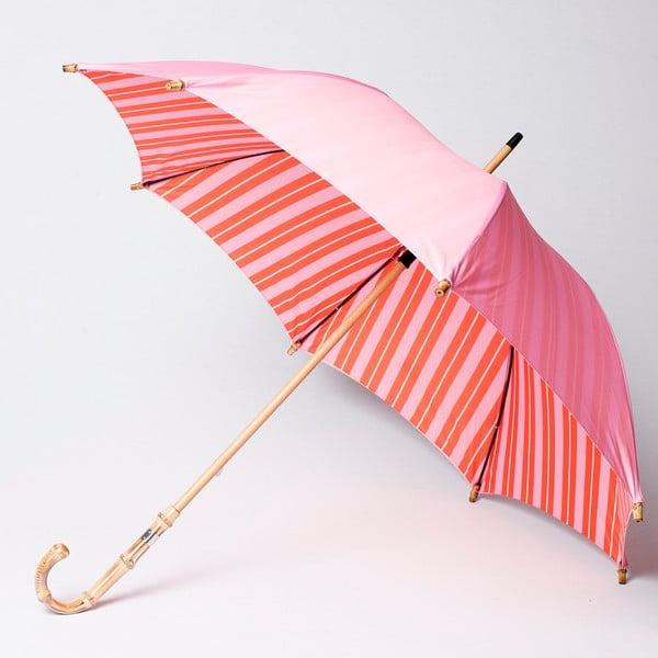 Dáždnik Alvarez Stripe Long Pink