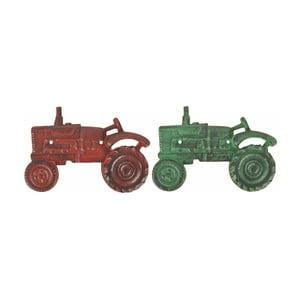 Sada 2 liatinových otváračov na fľaše Esschert Design Tractor