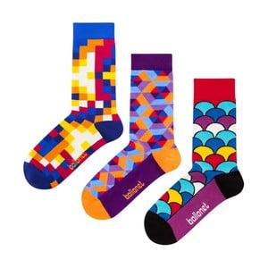 Darčeková sada ponožiek Ballonet Socks Crazy, veľkosť 36-40