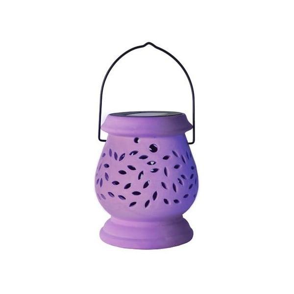 Vonkajší LED lampáš Clay Lilac
