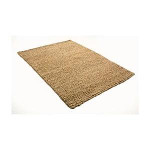 Svetlohnedý koberec z vlny a bavlny Cotex, 140 × 200 cm