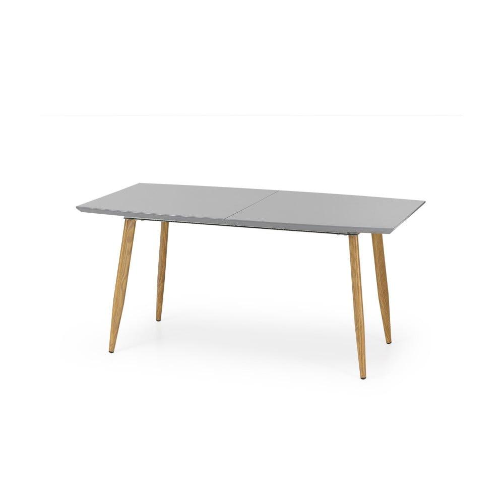 Sivý Rozkladací jedálenský stôl Halmar Ruten, dĺžka 160 - 200 cm
