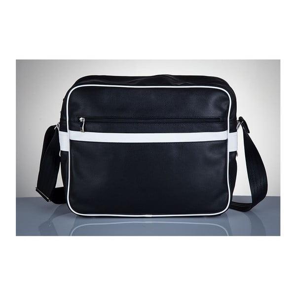 Pánska taška Solier MS1, biele detaily