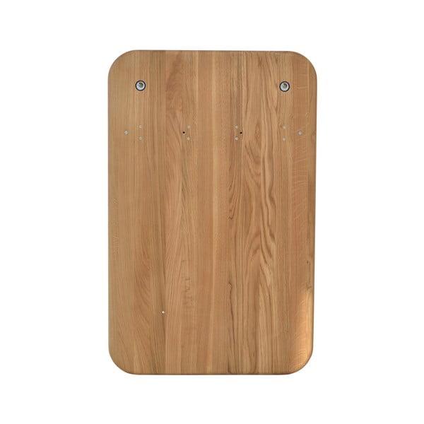 Nástenný vešiak na kabáty z dubového dreva Gazzda Ena