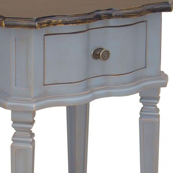 Nočný stolík so zásuvkou Belgique Grey