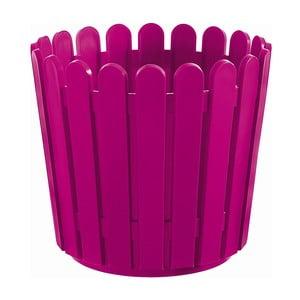 Kvetináč Round Planter Pink, 30x27 cm