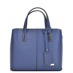 Modrá kožená kabelka Sofia Cardoni