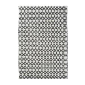 Vlnený koberec Linie Design Elliot White Black, 140x200 cm
