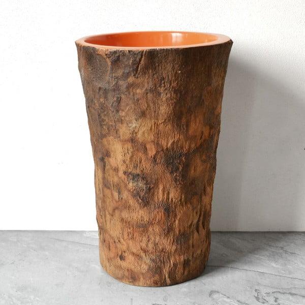Palmová váza Orange