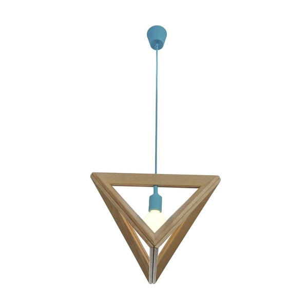 Závesné svietidlo Triangle Blue