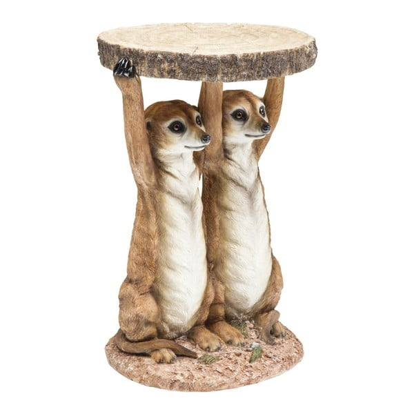 Príručný stolík Kare Design Meerkat Sisters