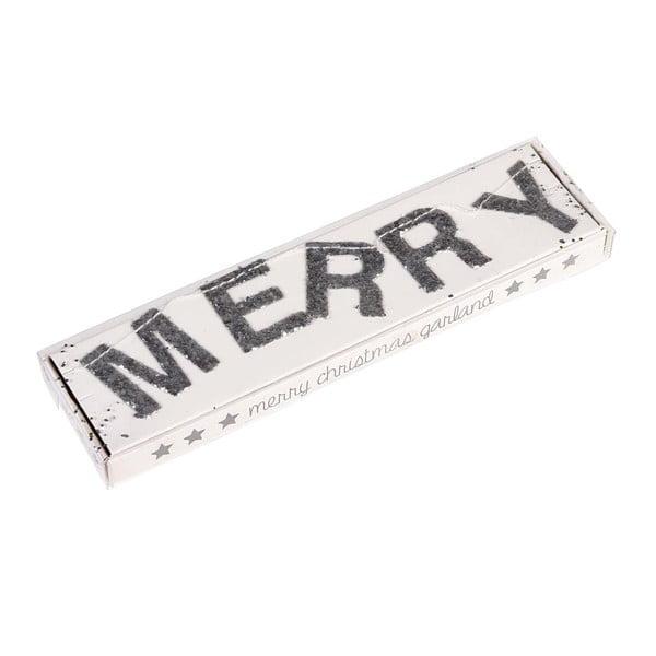 Vianočná girlanda s nápisom Rex London Silver Stars